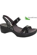 Naot Footwear Brussels in Black Luster