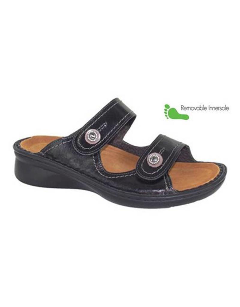 c0868c3bb254 NAOT Sitar Black Madras Shoes