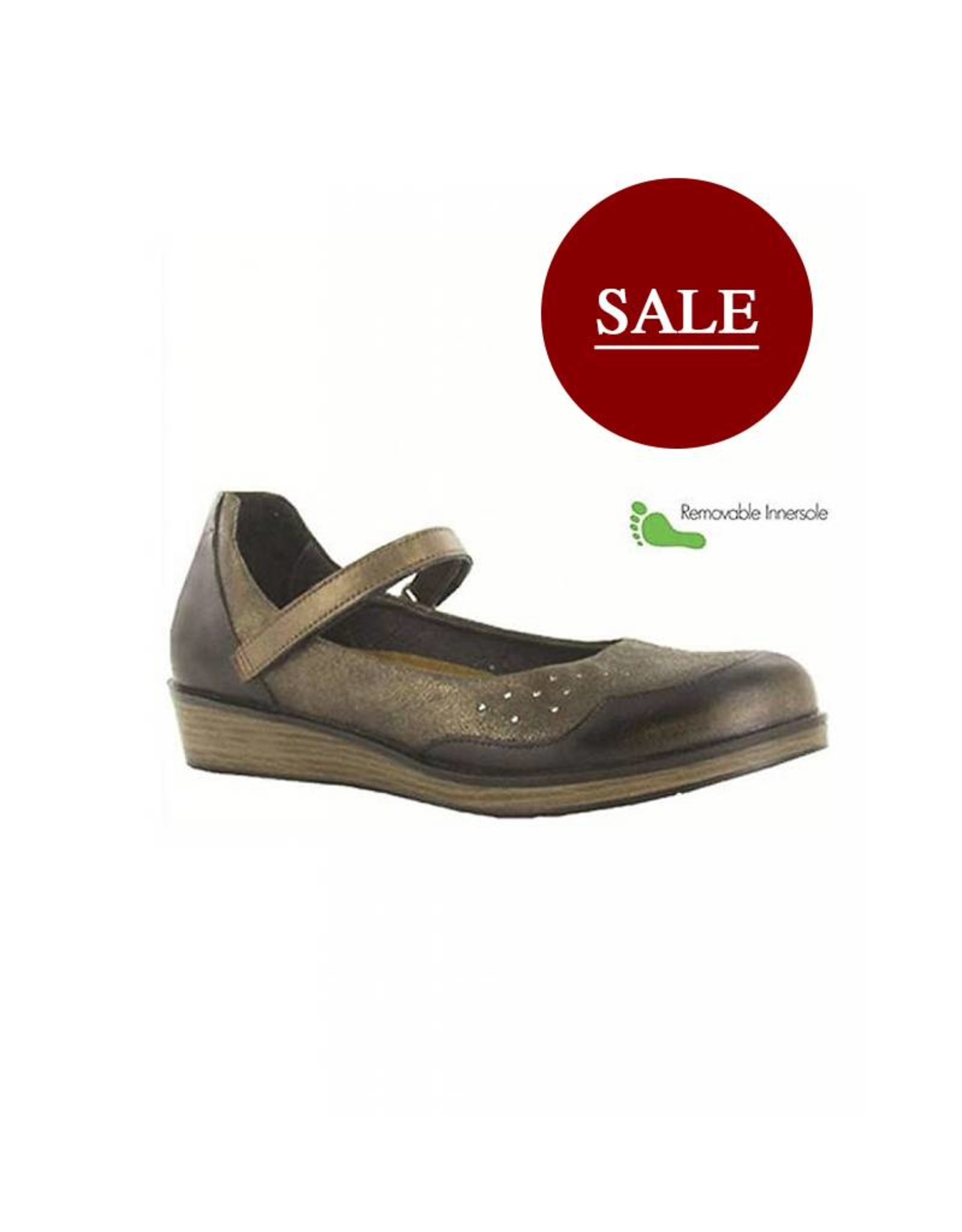 Naot Footwear Sincere in Volcanic Brown Combo