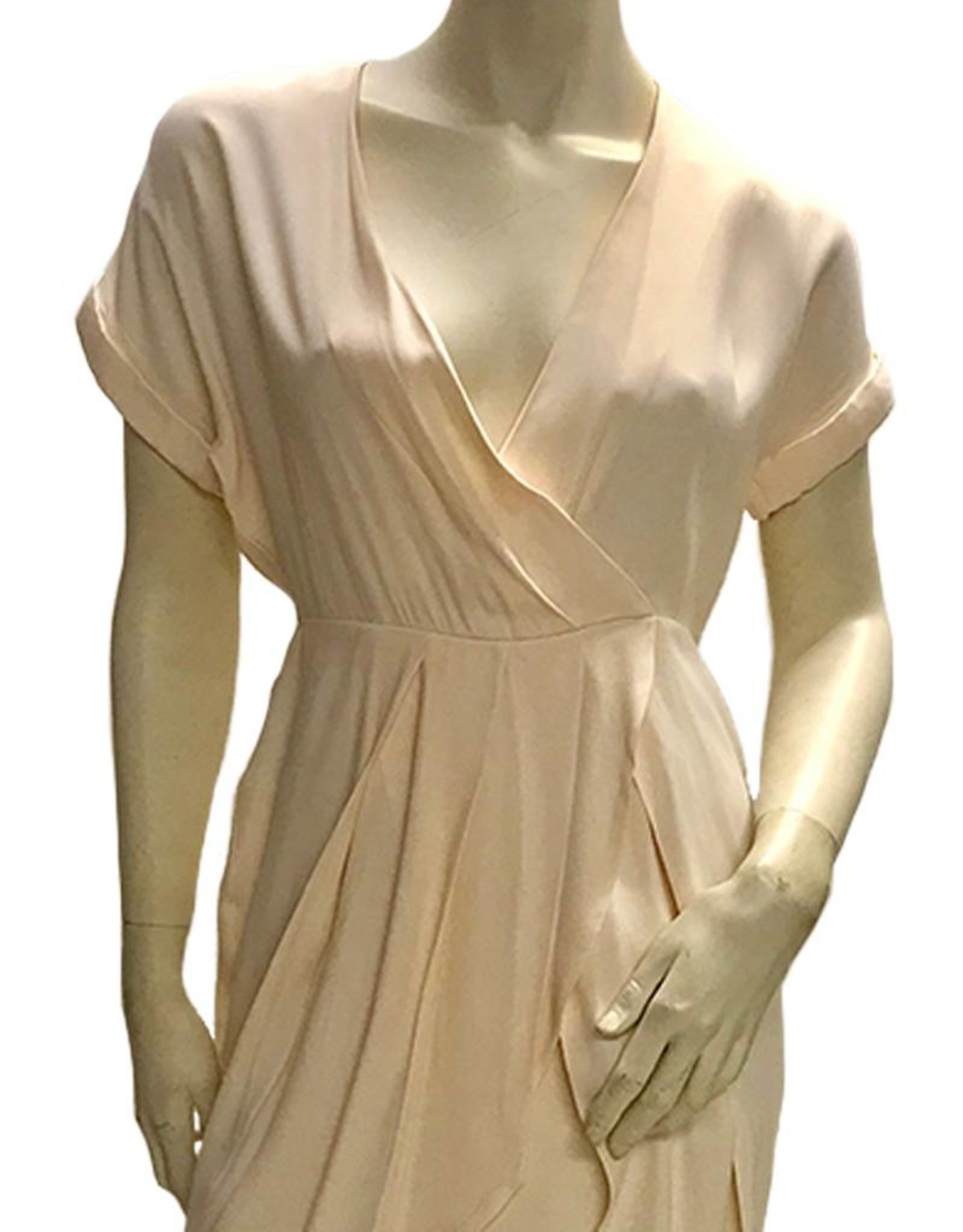 Elliatt Installation Tulip Dress - Blush