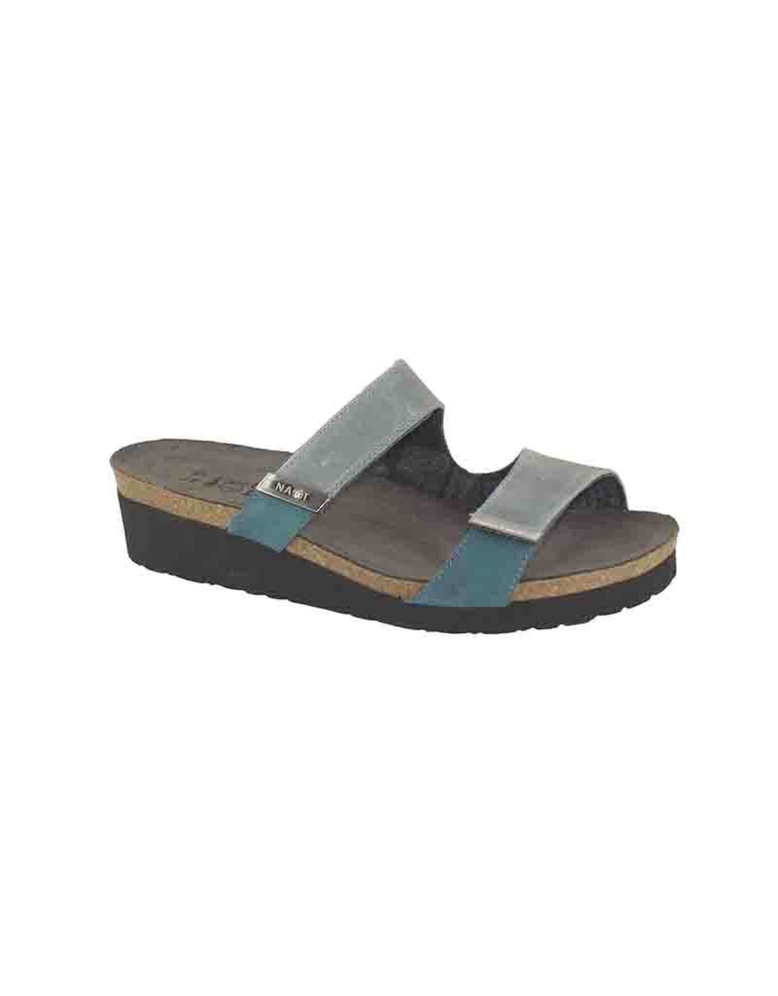 Naot Footwear Jacey Wide Vintage Slate Combo