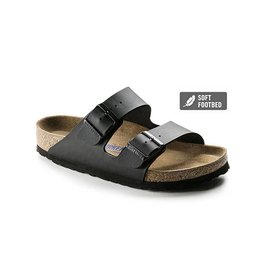 Birkenstock Arizona - Black - Narrow (SFB)