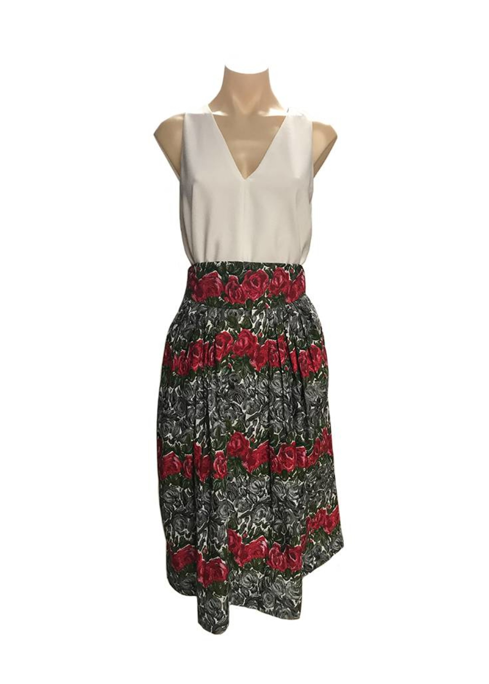Emily & Fin Florence Skirt in Bed Of Roses
