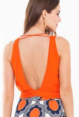 Totem Julieta Blouse in Coral
