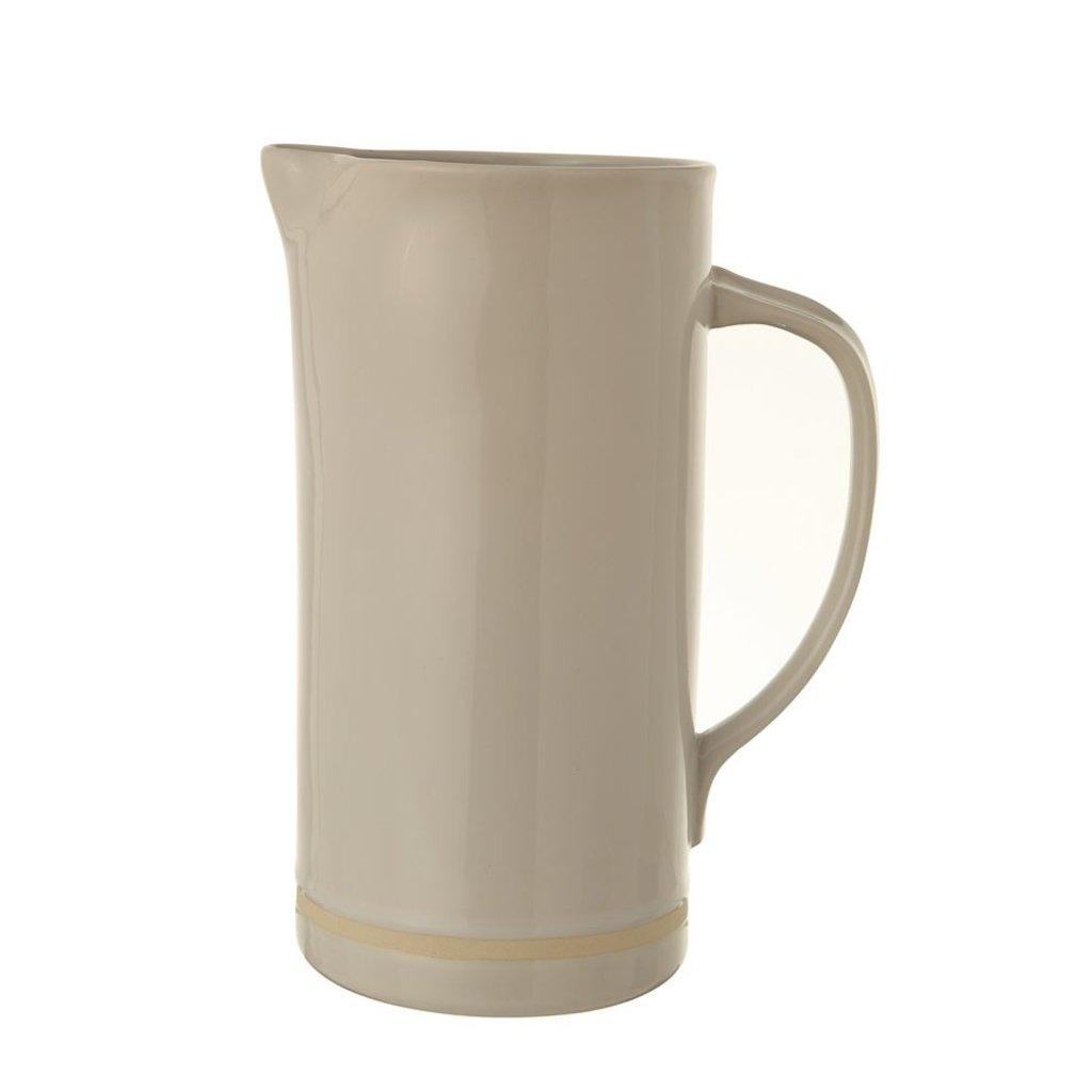 Slate White Stoneware Pitcher - 56 oz.