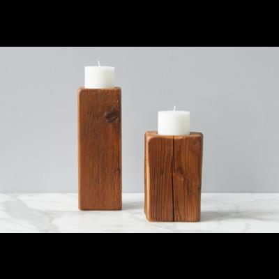 Slate Cordoba Candle Pillar