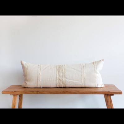 Creme Lumbar Pillow