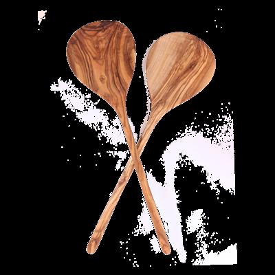 Slate Olive Wood Salad Spoon