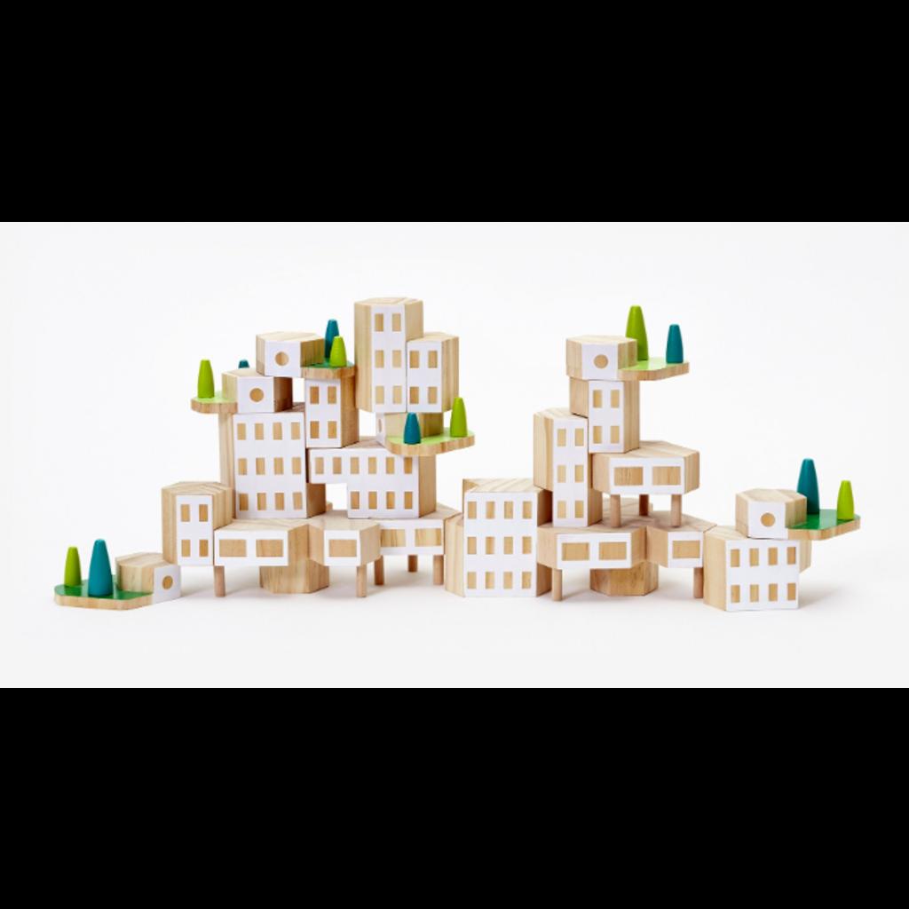 areaware Blockitecture Mega Set (Garden City)