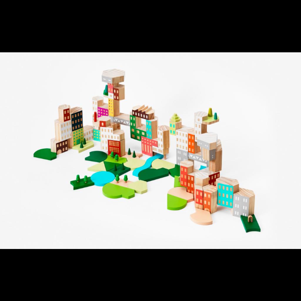 areaware Blockitecture Big City