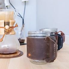 Rustico Leather Miner Mug
