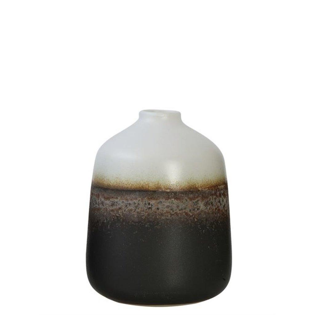 Ceramic Two-Tone Vase
