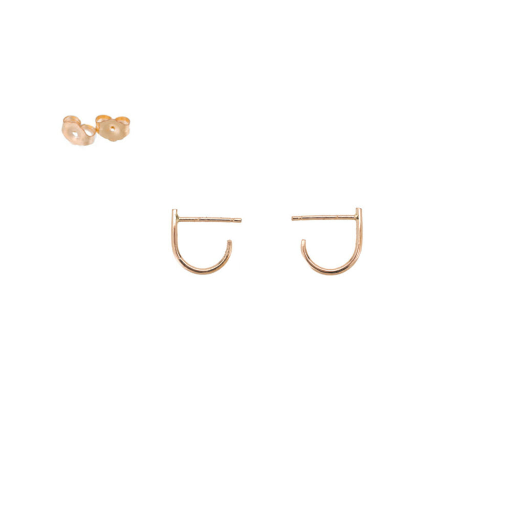 Colleen Mauer Designs J Post Earrings