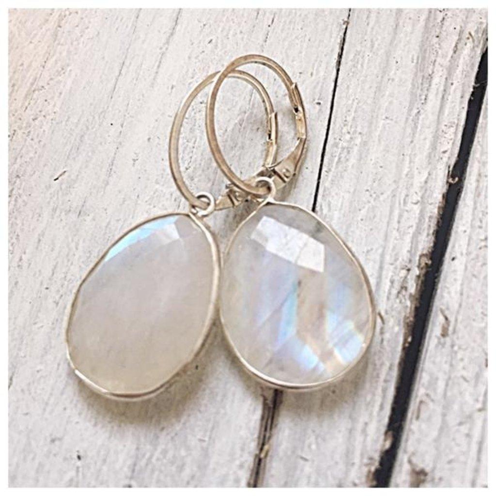 eenadee Moonstone Earrings