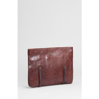 Slate Tyo Leather Work Doc Case Cognac
