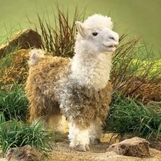 Slate Alpaca Puppet