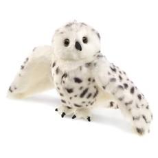 Slate Snowy Owl Puppet