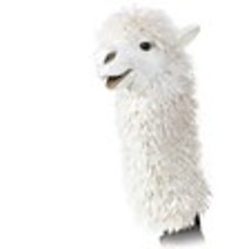 Slate Alpaca Stage Puppet