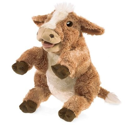 Slate Cow Puppet