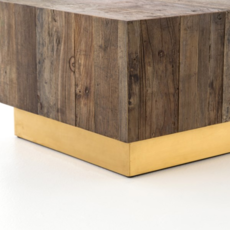 Reclaimed Wood Bunching Table