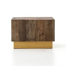 Slate Reclaimed Wood Bunching Table