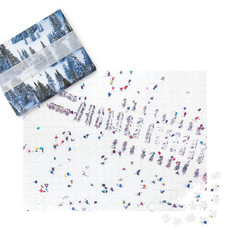 Snow Double-Sided 500 Piece Puzzle