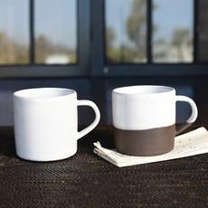 Slate Partial Glaze Mug