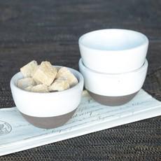 Slate Partial Glaze Sauce Bowl
