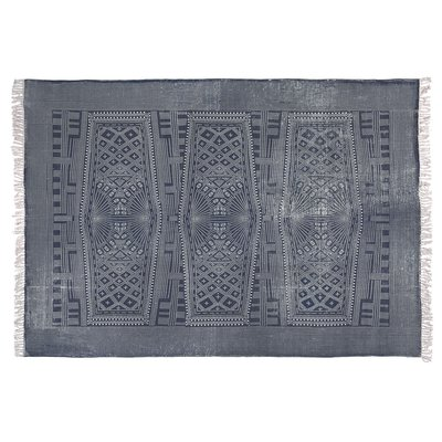 Slate Indigo Batik Rug