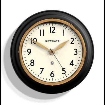 NEWGATE Cookhouse II Clock Matte Black