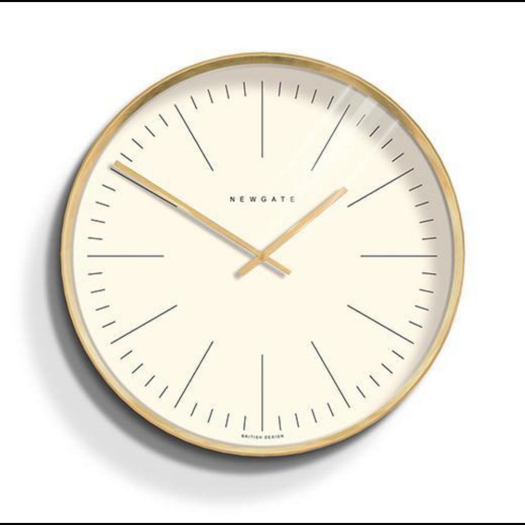 Newgate Clock Oslo Radial Brass