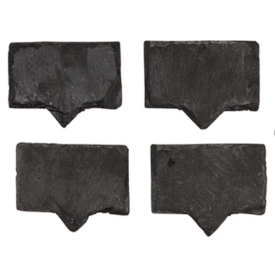 Slate Slate Cheese Markers (Set of 4)
