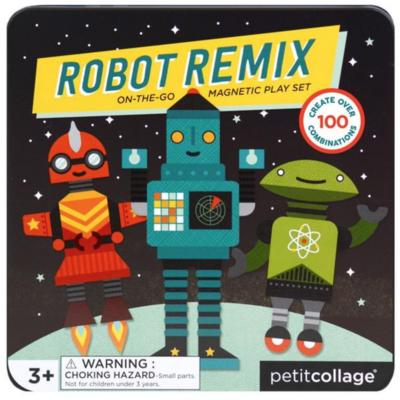 Slate Robot Remix On-The-Go Magnetic Play Set