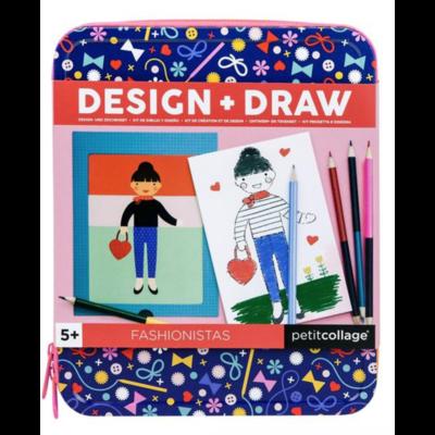 Fashionista's Design & Draw Travel Activity Kit