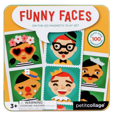 Funny Faces On-The-Go Magnetic Play Scene