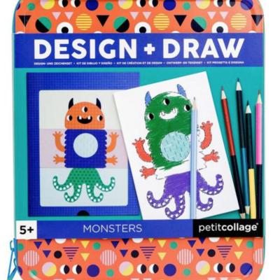 Slate Monsters Design & Draw Activity Kit
