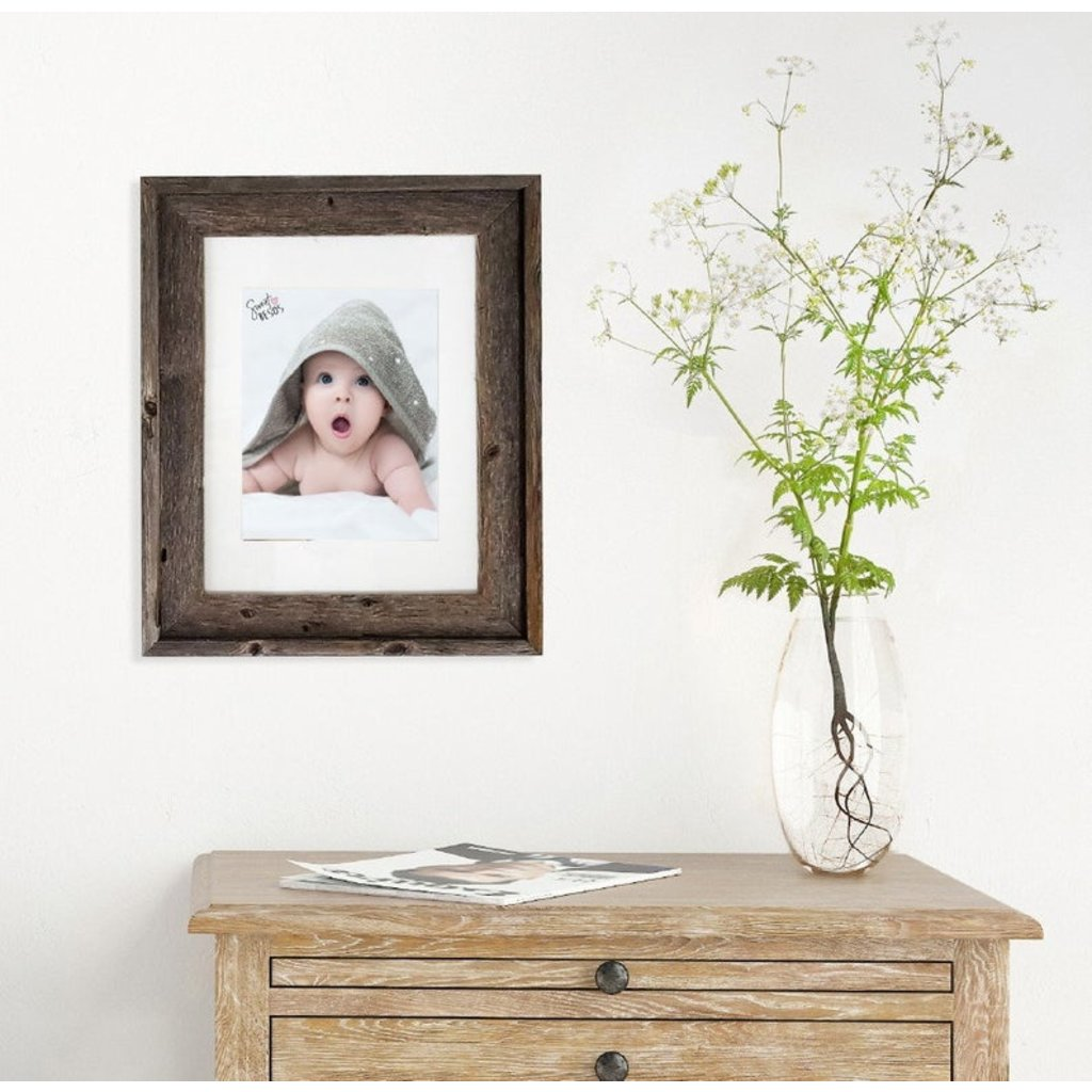 Beach Frames Reclaimed Picture Frame - Brown backboards