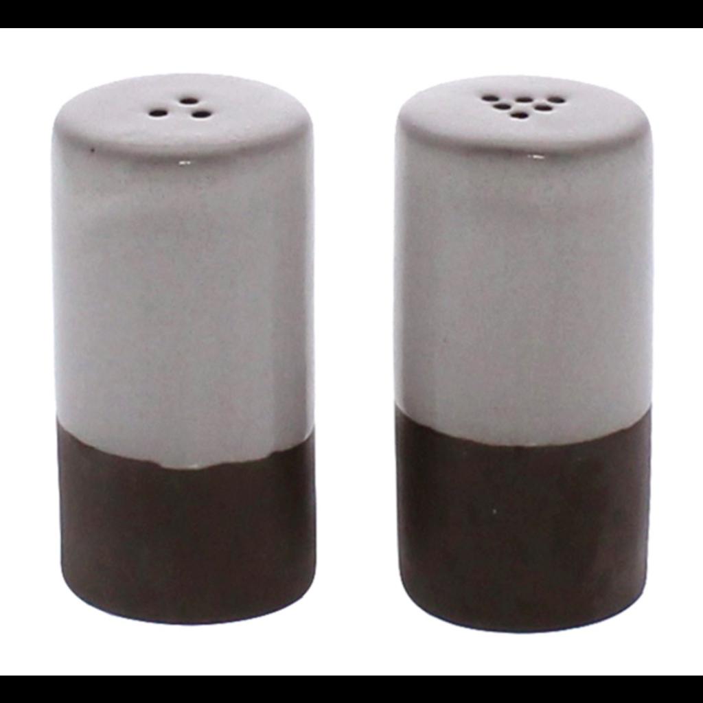 Salt and Pepper Shakers Pair