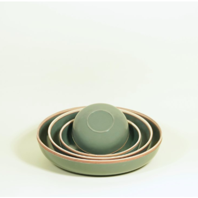 Hermit Bowl Steel Grey