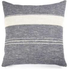 """Libeco North Sea Stripe 25"""" Pillow"""
