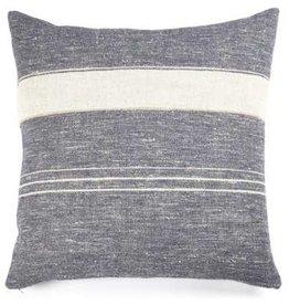 """Libeco North Sea Stripe Pillow 25"""""""