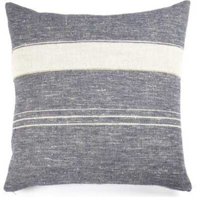 "Libeco North Sea Stripe 25"" Pillow"