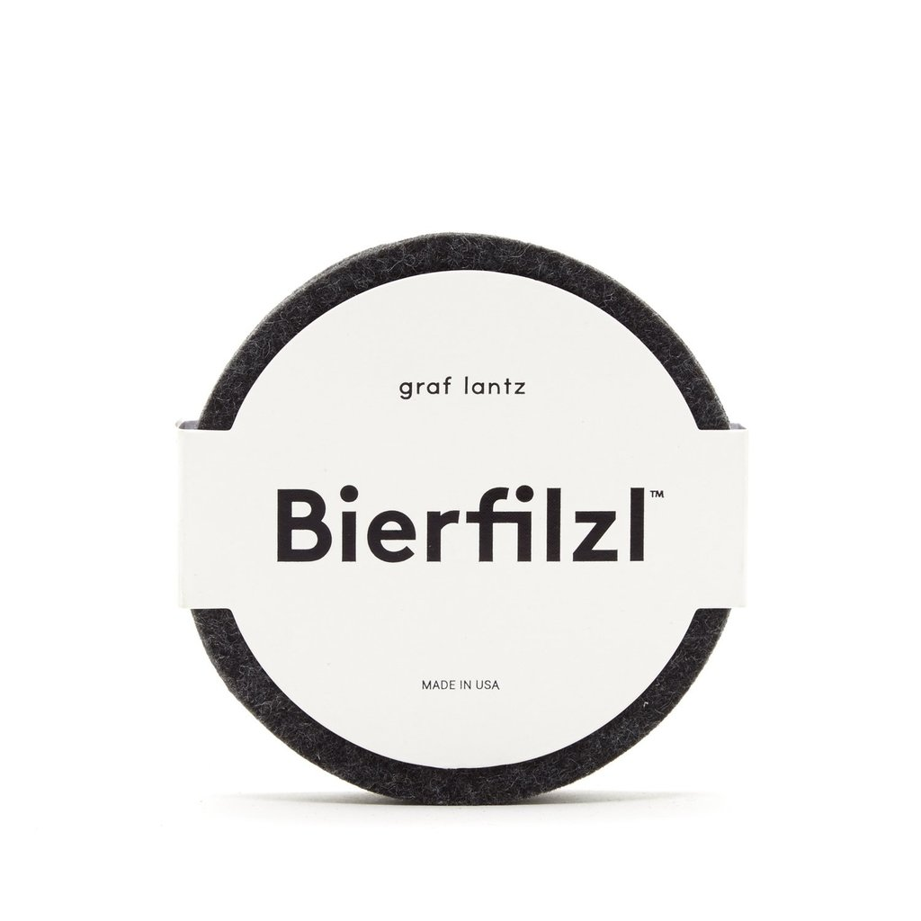 Graf Lantz Round Felt Coaster (set of 4)