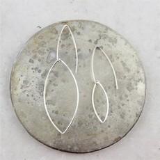 Slate Leaf Earrings