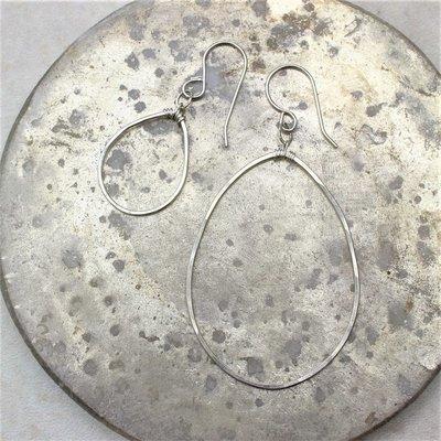 Free Form Hoop Earrings