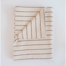 Evangeline 100% Cotton Pinstripe Throw