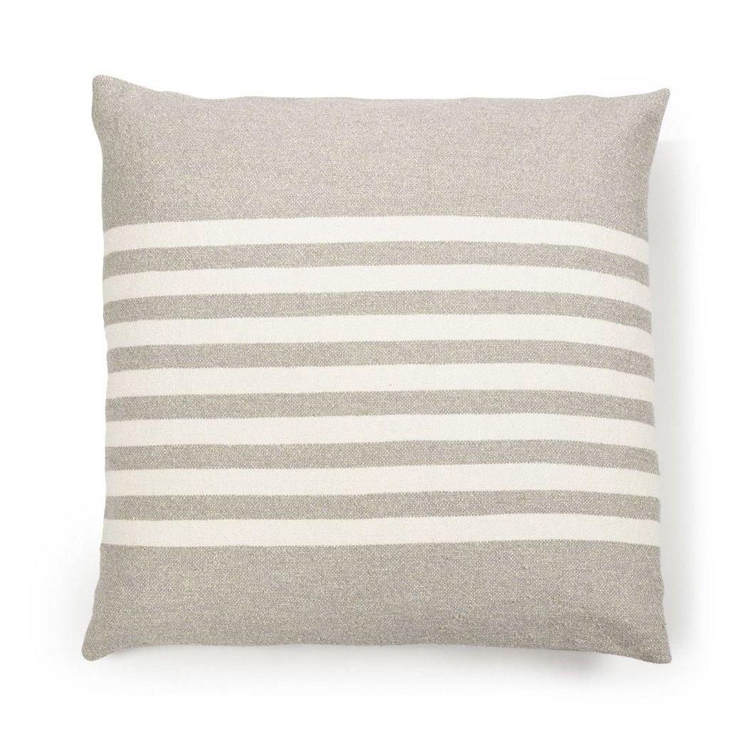 "Libeco Libeco Camille Stripe 25"" Pillow"