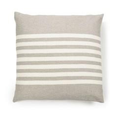 "Libeco Camille Stripe Pillow 25x25"""