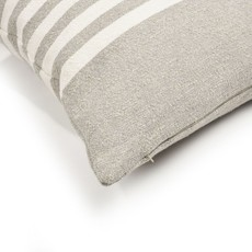 "Libeco Camille Stripe 25"" Pillow"