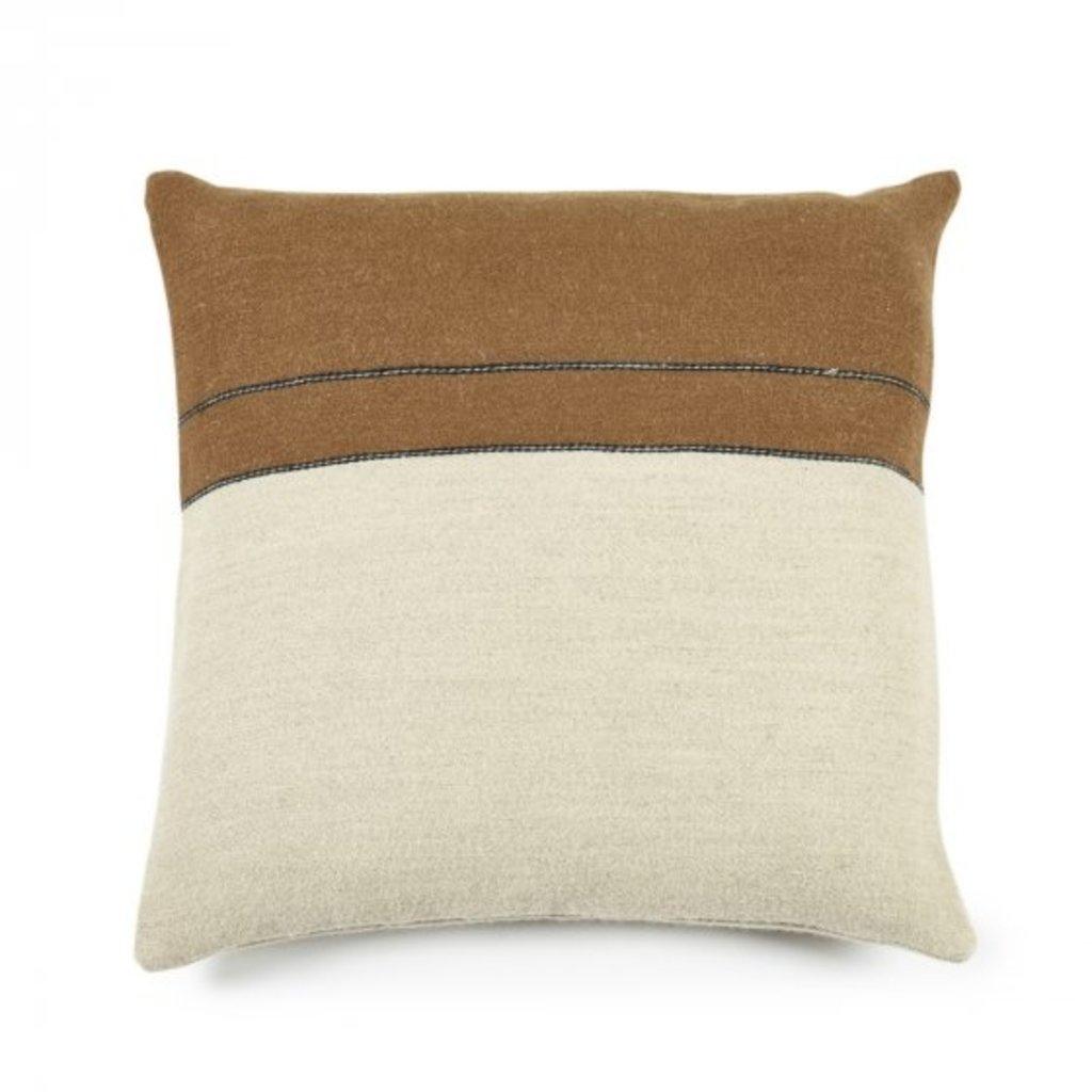 """Libeco Gus Stripe Pillow 25x25"""""""